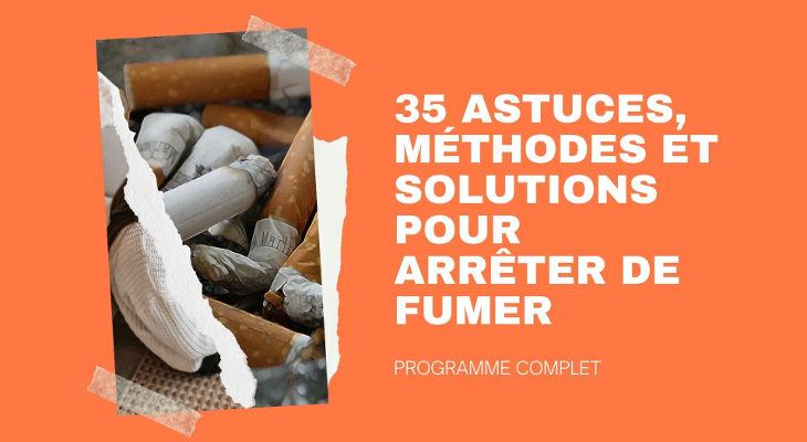 35 Astuces pour arrêter de fumer